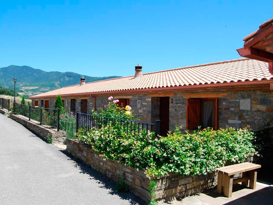 Casa Lueza, Alueza