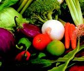 verduras y hortalizas de Huesca